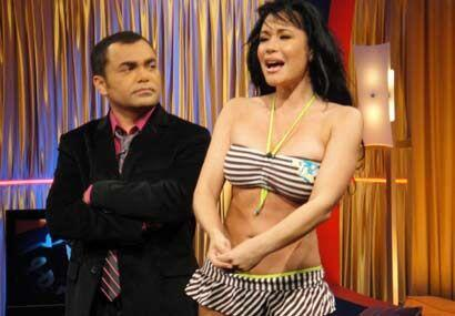 Claudia se mostró triste, poque el concurso buscando a la chica del Biki...