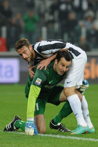 El jugador esloveno fue de lo mejor por parte del cuadro 'nerazzurro' en...