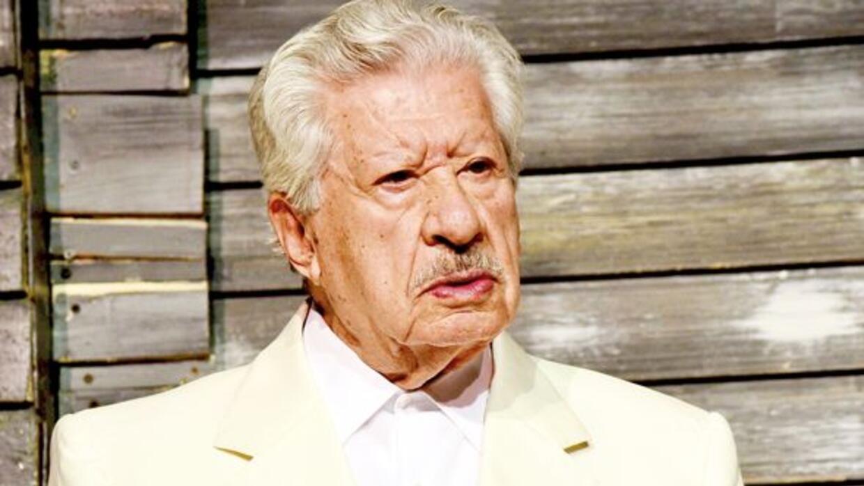 El primer actor Ignacio López Tarso se integró al elenco de la nueva pro...