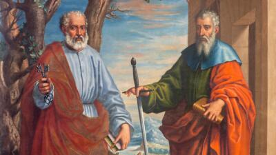 ¿Por qué celebramos juntos a San Pedro y San Pablo?