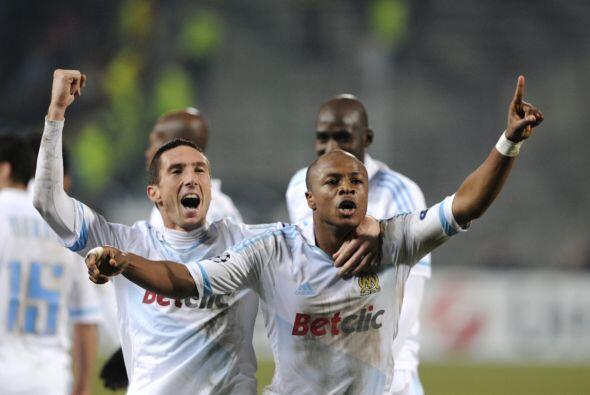 No hubo tiempo para más y el Marsella sacó la victoria por 1-0.