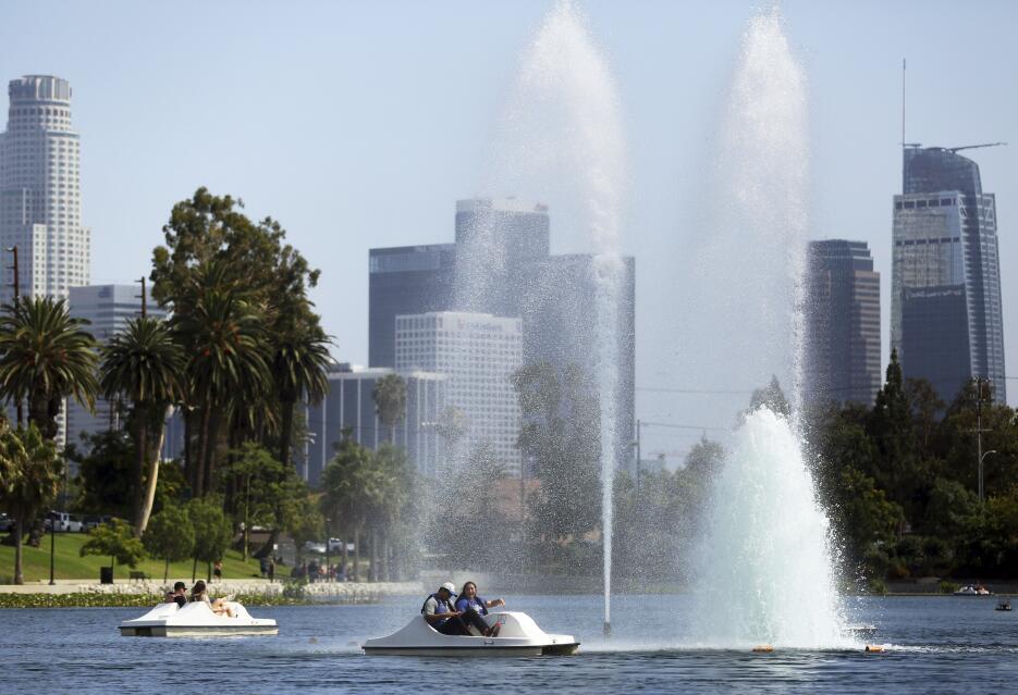 Ola de calor en California