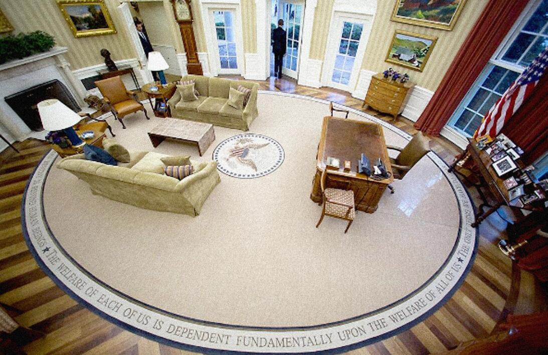 Obama Sale de la oficina por última vez