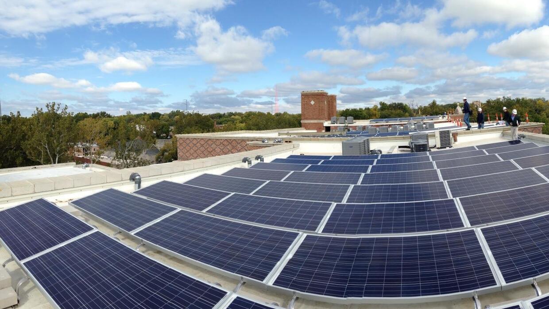 Equipados con celdas solares en sus techos.