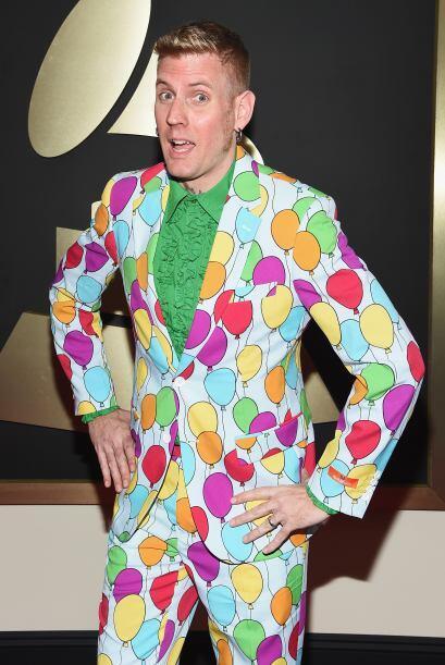 La decoración de la fiesta post Grammy llegó de la mano de Brann Dailor....