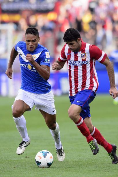 Al final del partido, Aleix Vidal descontó para intentar hacer más decor...