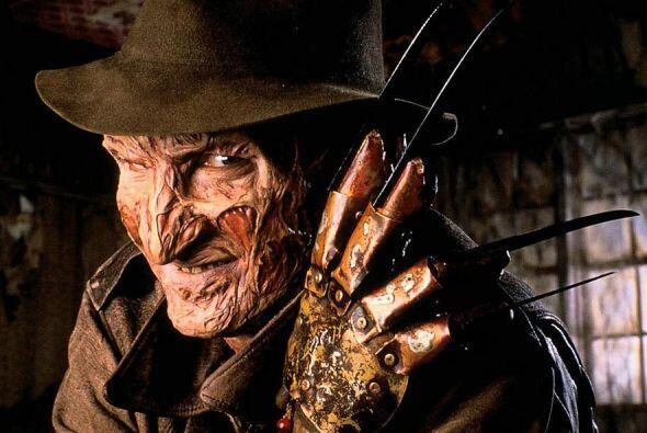 El papel de psicópata asesino que acuchillaba a los niños en Elm Street,...