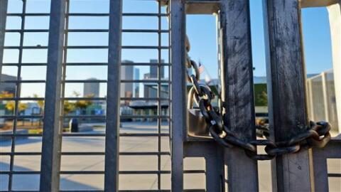 Una cadena en una de las escuelas de Los Ángeles.