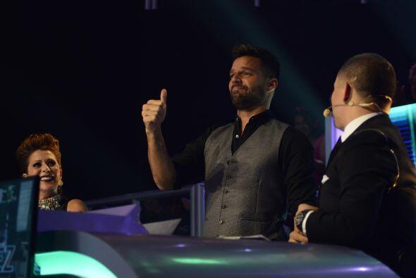 """Ricky Martin terminó su participación como juez invitado y le dio el """"th..."""