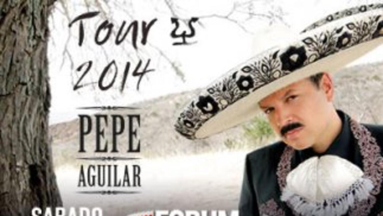 Pepe Aguilar en el Forum