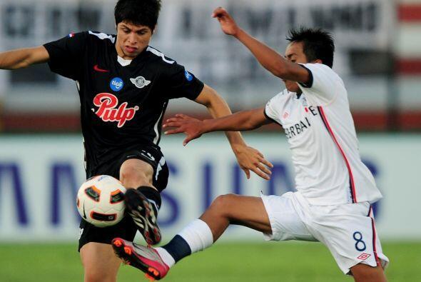 Libertad de Paraguay fue el primer equipo que clasificó a octavos...