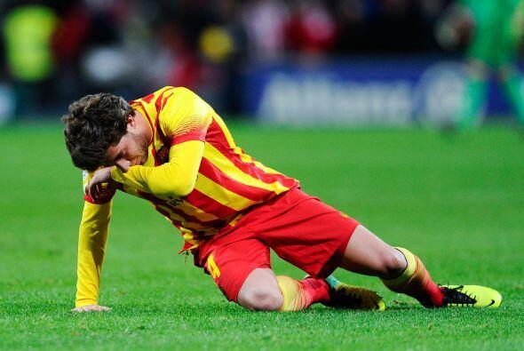 Dos traspiés en fila, uno en Champions League y otro en el torneo ibéric...