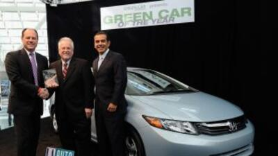 El Honda Civic de Gas Natural fue nombrado 'Green Car of the Year' 2012...