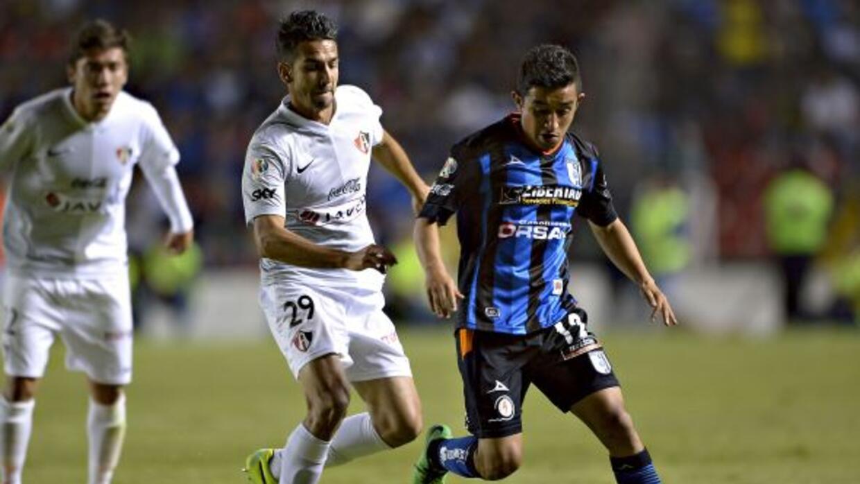 Querétaro se impuso al Atlas con gol de Isaac Romo.