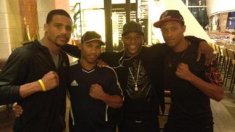 Andre Dirrel, Floyd Mayweather jr. Yuriorkis Gamboa y Celestino Caballer...