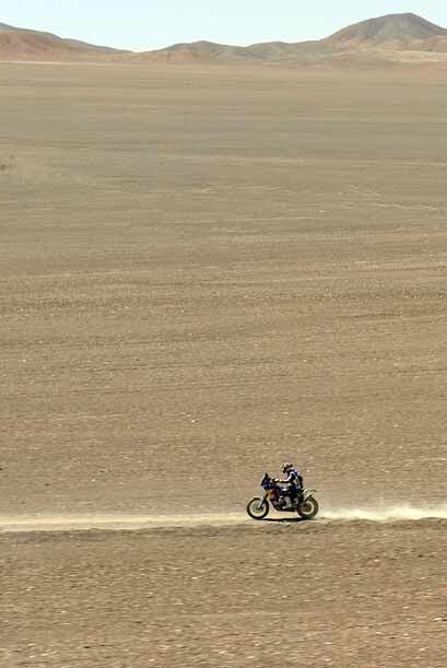 Aunque el francés de KTM solo llegó dos segundos después que Coma a la l...