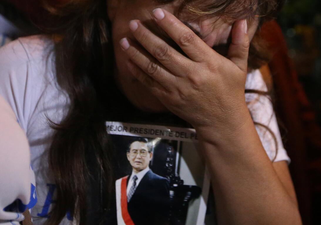 En Fotos: Protestas y celebración en las calles de Perú por el indulto a...