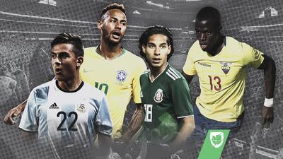 EN VIVO: México no pudo con Team USA, Brasil goleó a El Salvador, Argentina empató con Colombia y más