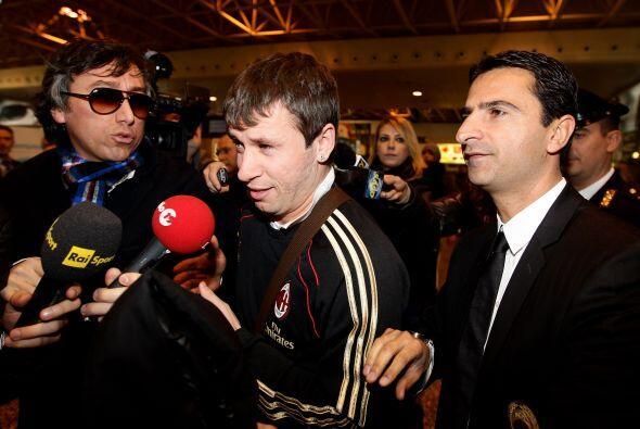 El talentoso futbolista italiano Antonio Cassano ya está con el M...