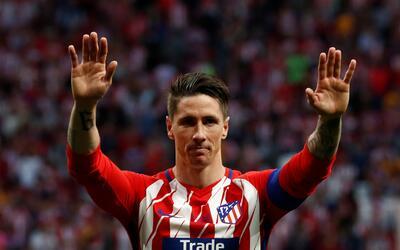 Torres se despidió el fin de semana del Atlético de Madrid.