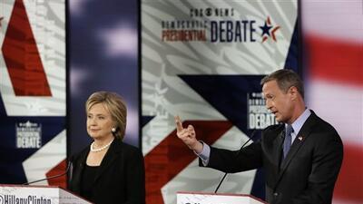 Clinton y O'Malley pugnan en Iowa por ser el candidato demócrata más pro...