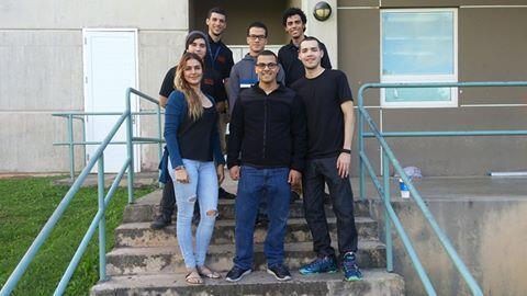 El equipo de la Unversidad Interamericana de Bayamón participa en un eve...