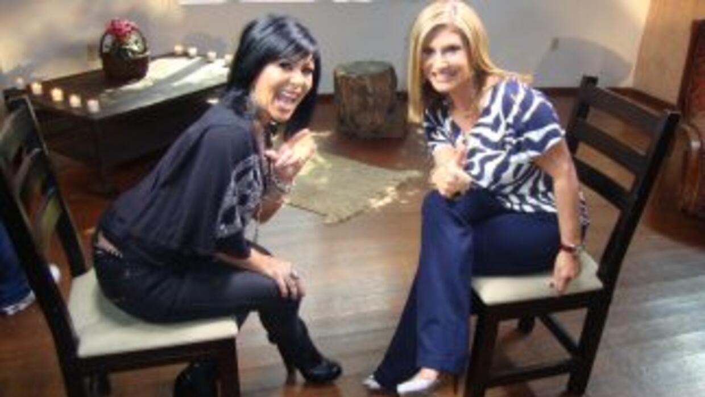 Alejandra Guzmán habló sobre todo con la periodista Teresa Rodríguez.
