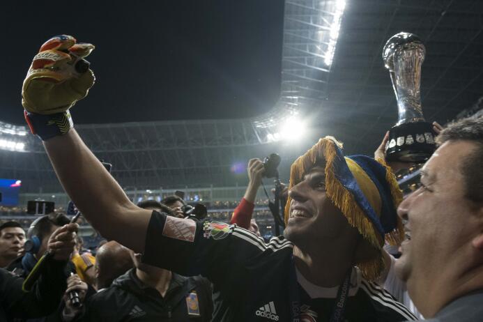 Nahuel Guzmán, el alma de la fiesta de Tigres campeón