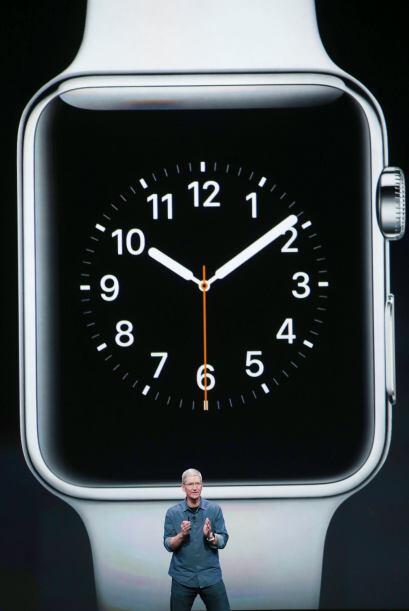 """Tim Cook presentó describió al reloj como el """"dispositivo más personal q..."""