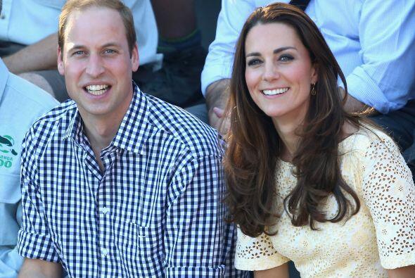 William y Kate dejaron a George con su nana mientras procedía su visita....