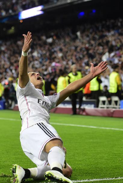 Mientras Hernández gritaba en lo alto un premio muy merecido por su gran...