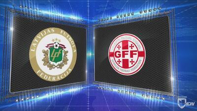 Letonia 0-3 Georgia - GOLES Y RESUMEN - Liga D - Grupo 1 - UEFA Nations League
