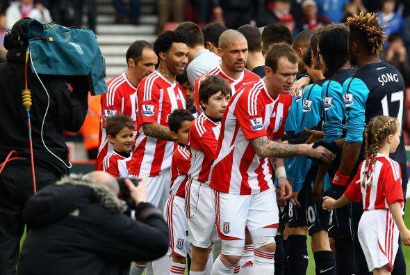 Stoke City recibió la visita del Arsenal.