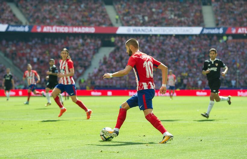 Atlético mantiene buena racha en su nueva casa venciendo al Sevilla gett...