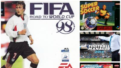 Los 20 mejores videojuegos de fútbol de la historia