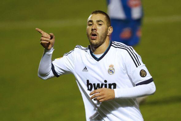 Benzema volvió a marcar para poner el 4-1.