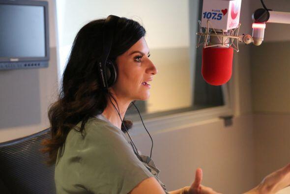 Laura Pausini con Omar y Argelia
