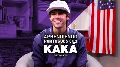 Aprende portugués con Kaká, quien te enseña lo básico para comunicarte e...
