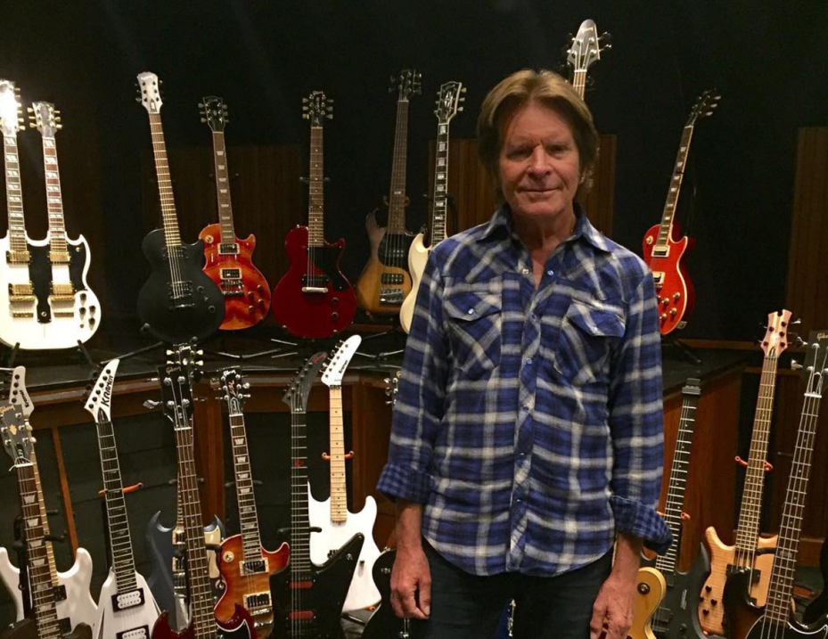 John Fogerty, del grupo de rock Creedence Clearwater Revival.