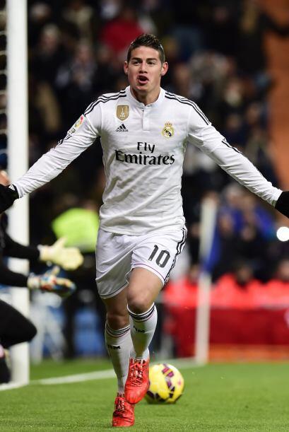 James Rodríguez ha encajado muy bien en el mediocampo del Real Madrid gr...