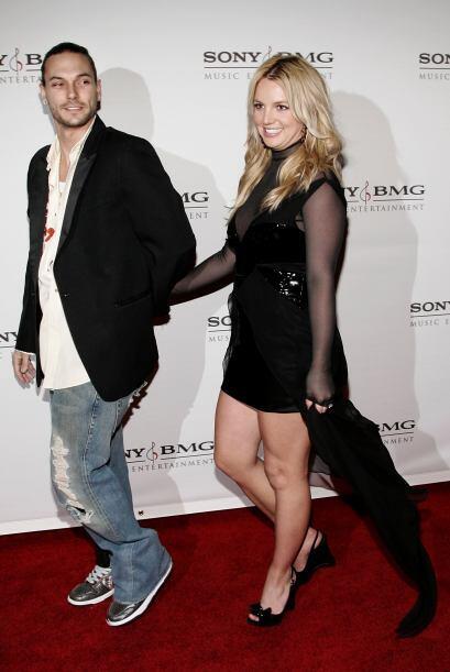 Kevin y Britney pronto fueron una de las parejas más perseguidas en todo...
