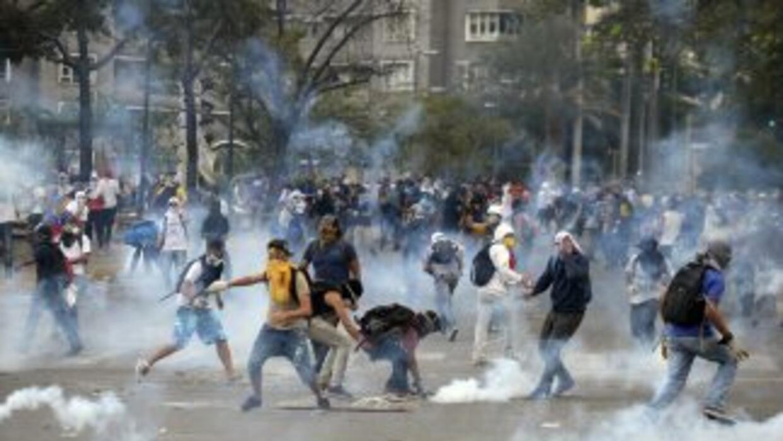 Protestas en Venezuela contra el gobierno de Nicolás Maduro.