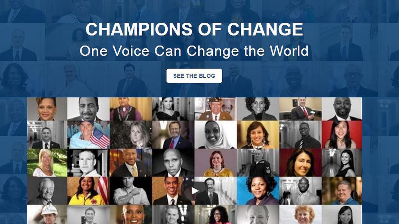 """Bajo el lema de """"Una voz puede cambiar el mundo"""", la Casa Blanca reconoc..."""