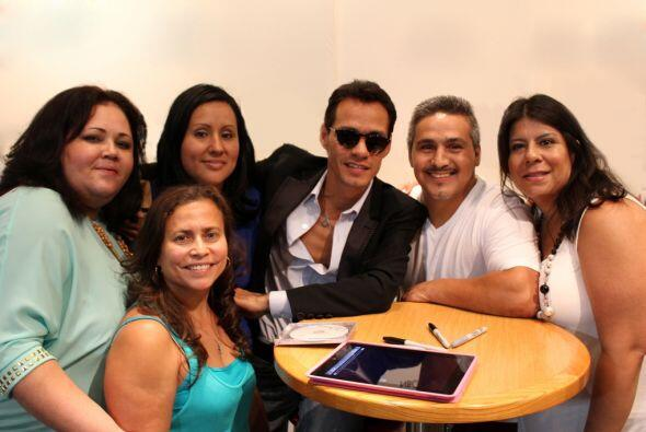 Marc Anthony - CD Signing