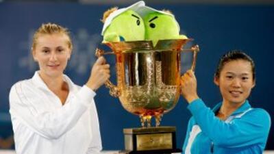 Chuang Chia-Jung y Olga Govortsova derrotaron a Flavia Pennetta y a Gise...
