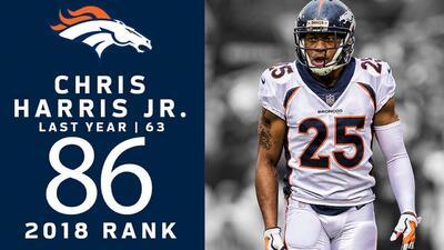 #86 Chris Harris Jr. (CB, Broncos) | Top 100 Jugadores NFL 2018