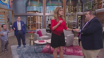Hasta Lili Estefan se confundió: al show llegaron dos Gordos y se armó tremenda algarabía
