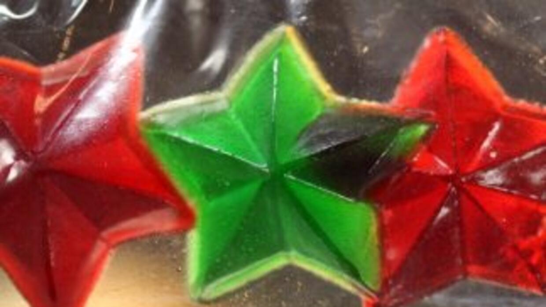 Gomitas en forma de estrella hechas con marihuana que se venden en Centr...