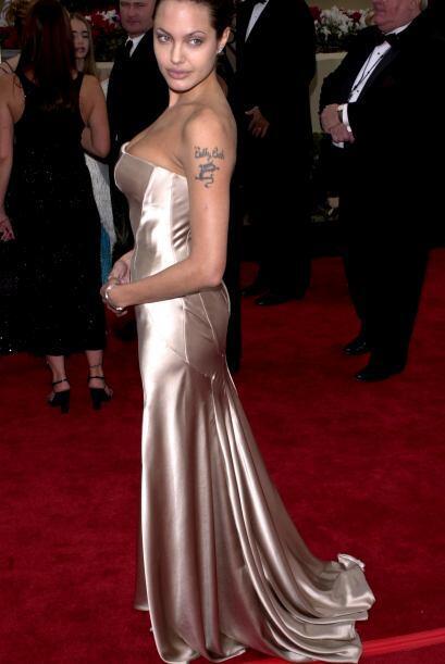 Angelina Jolie también estuvo presente y debemos admitir que su '...