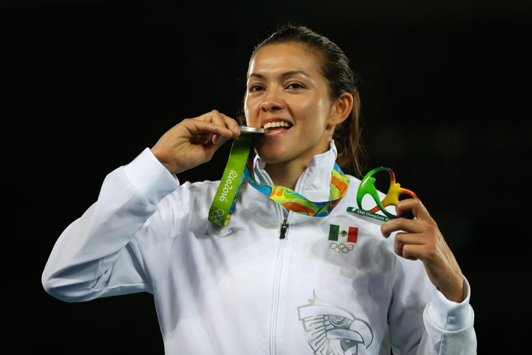 María del Rosario Espinoza: la taekwondista ha conseguido tres medallas...